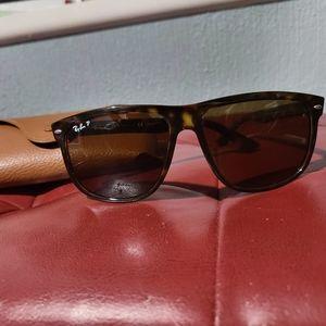 Raybans tortoise shell polarized sunglasses